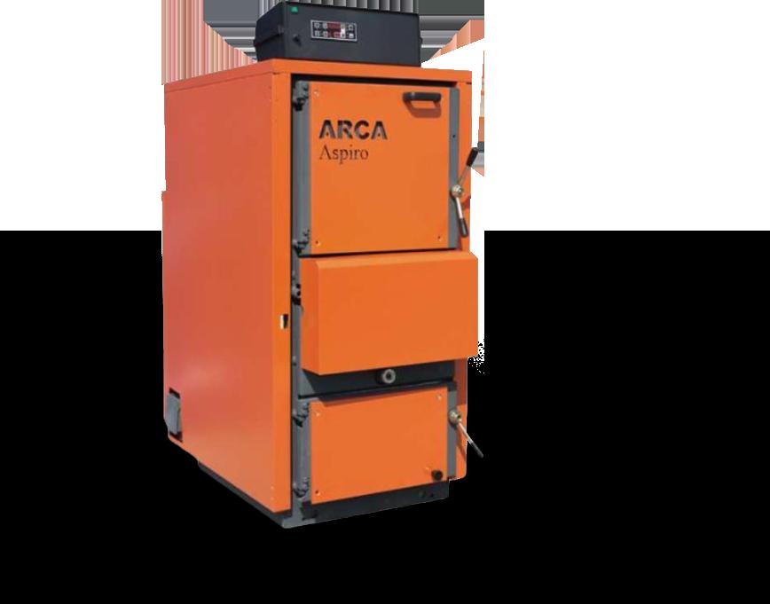 Centrala lemne Gazeificare Arca Aspiro 70R-69KW